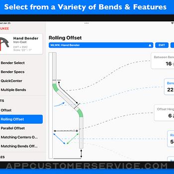 QuickBend: Conduit Bending ipad image 1
