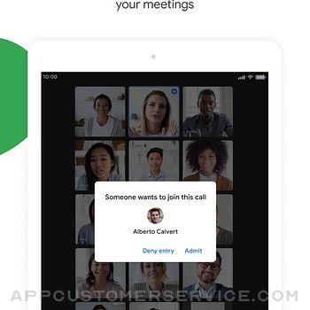 Google Meet ipad image 2