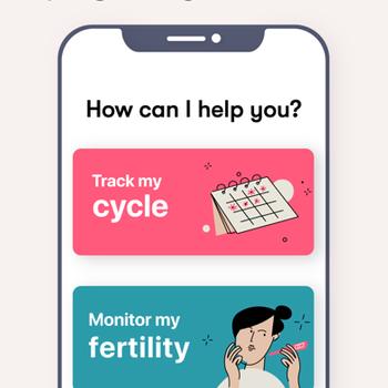 Flo Period Tracker. Ovulation iphone image 4