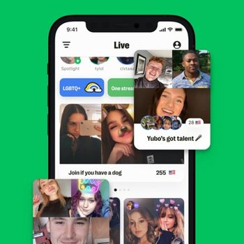 Yubo : Make friends & Go live iphone image 2