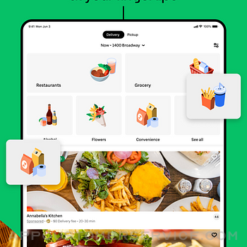 Uber Eats: Food Delivery ipad image 2