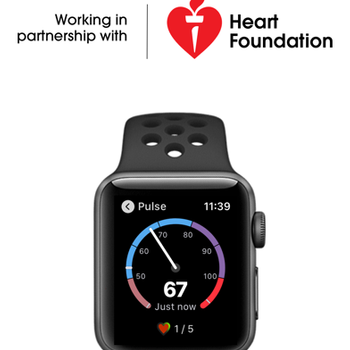 HeartWatch: Monitor Heart Rate iphone image 1