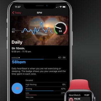 HeartWatch: Monitor Heart Rate iphone image 4