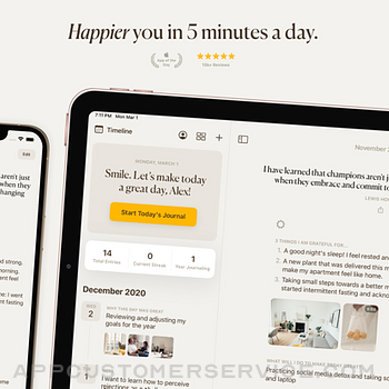 5 Minute Journal: Self-Care ipad image 1
