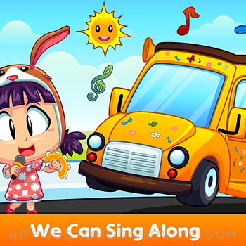 Wheel On The Bus - Kids Song ipad image 4