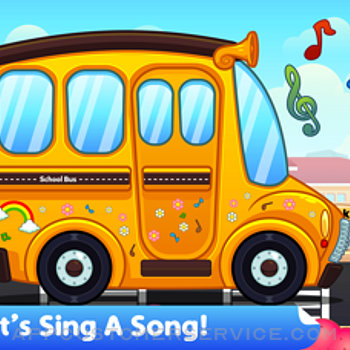 Wheel On The Bus - Kids Song iphone image 1