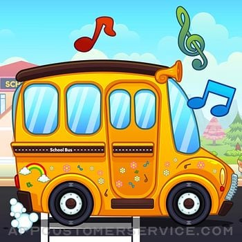 Wheel On The Bus - Kids Song Customer Service