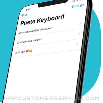 Paste Keyboard iphone image 1