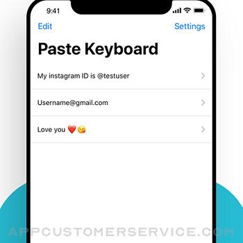 Paste Keyboard iphone image 2