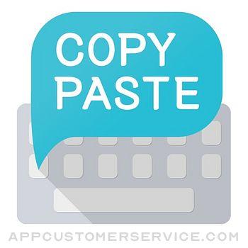 Paste Keyboard Customer Service
