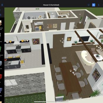 Live Home 3D Pro ipad image 4