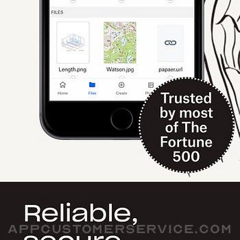 Dropbox EMM iphone image 3