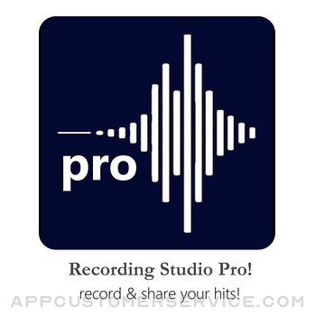 Recording Studio Pro! Customer Service