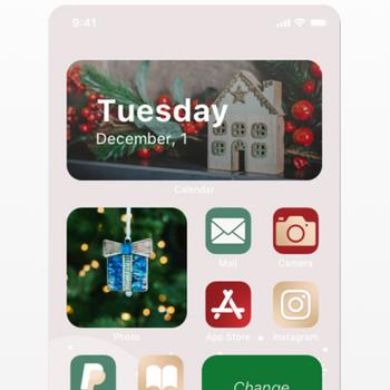 Aesthetic: Icons Widgets Theme iphone image 1