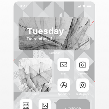 Aesthetic: Icons Widgets Theme iphone image 2