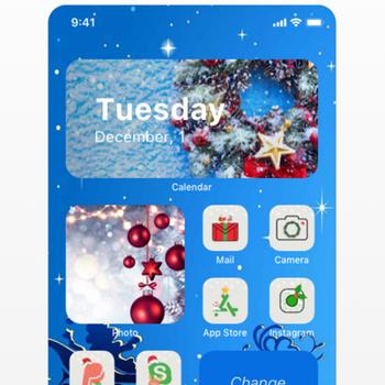 Aesthetic: Icons Widgets Theme iphone image 4