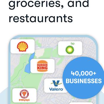GetUpside Cashback: Gas & Food iphone image 2