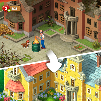 Gardenscapes iphone image 1