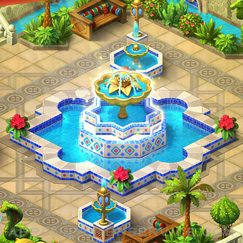 Gardenscapes iphone image 2