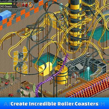 RollerCoaster Tycoon® Classic ipad image 1