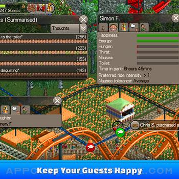 RollerCoaster Tycoon® Classic ipad image 2
