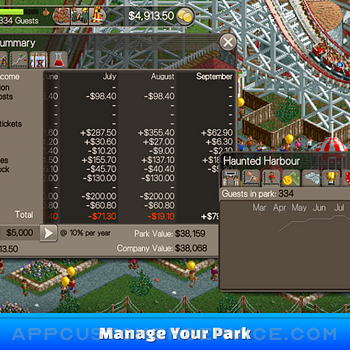 RollerCoaster Tycoon® Classic ipad image 4
