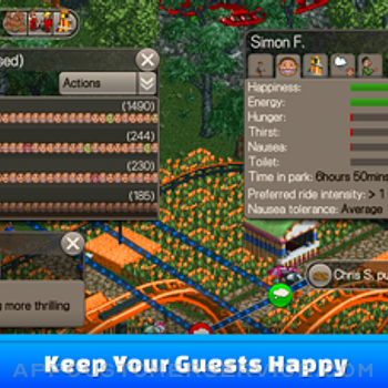 RollerCoaster Tycoon® Classic iphone image 2