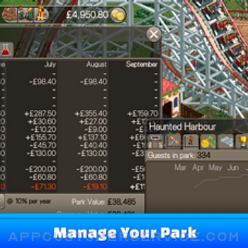 RollerCoaster Tycoon® Classic iphone image 3