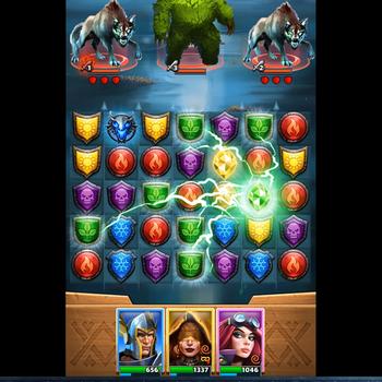 Empires & Puzzles Epic Match 3 ipad image 1