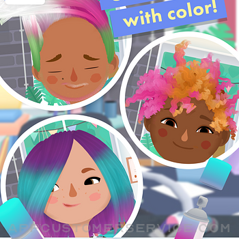 Toca Hair Salon 3 ipad image 4