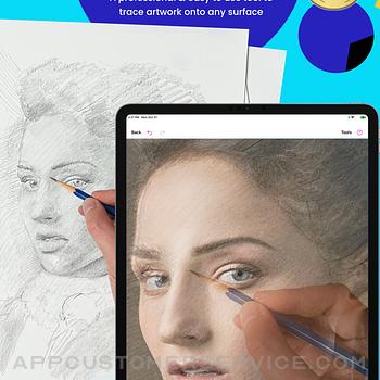 Da Vinci Eye: AR Art Projector ipad image 1