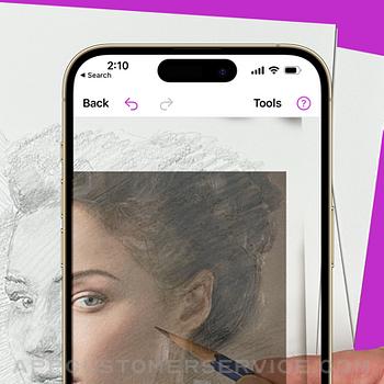 Da Vinci Eye: AR Art Projector iphone image 1
