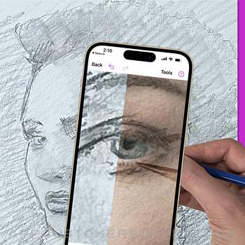 Da Vinci Eye: AR Art Projector iphone image 2