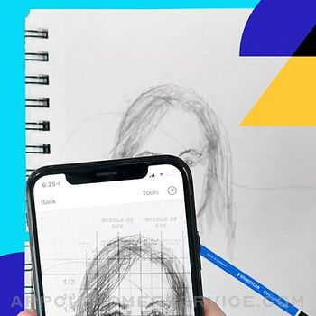 Da Vinci Eye: AR Art Projector iphone image 4