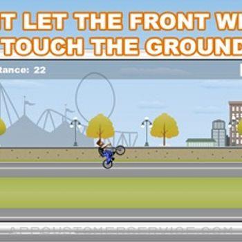 BMX-Wheelie King iphone image 3