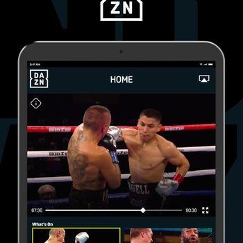 DAZN: Live Sports Streaming ipad image 1