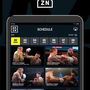 DAZN: Live Sports Streaming ipad image 2