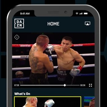 DAZN: Live Sports Streaming iphone image 1