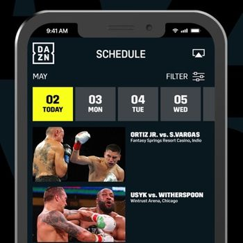 DAZN: Live Sports Streaming iphone image 2