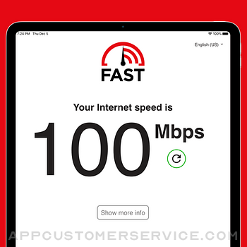 FAST Speed Test ipad image 1