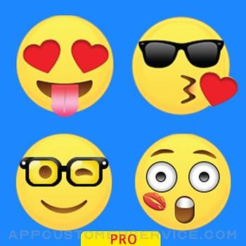 Emoticons Keyboard Pro - Adult Emoji for Texting Customer Service
