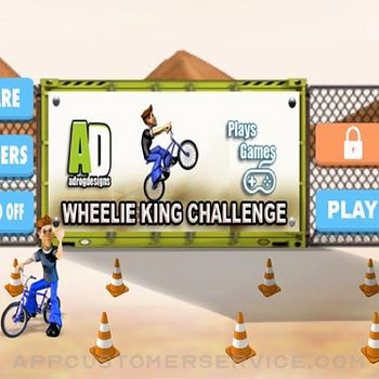 Wheelie King Challenge ipad image 1