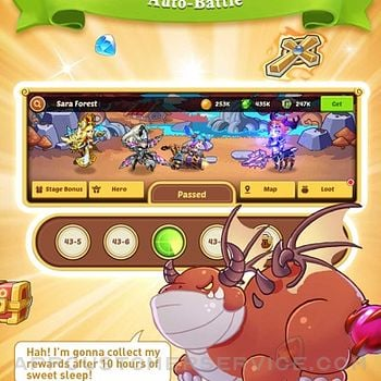 Idle Heroes - Idle Games iphone image 2