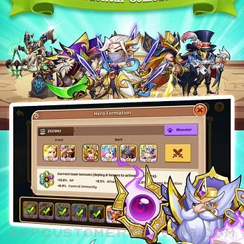 Idle Heroes - Idle Games iphone image 3