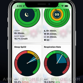 AutoSleep Track Sleep on Watch iphone image 4