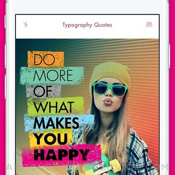 Quote on Pic Design Typography iphone image 2