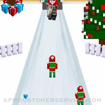 Bad Ass Santa iphone image 2