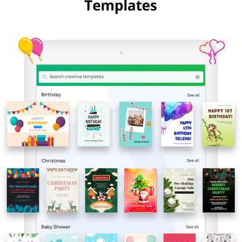 Invitation Maker- Make Invites ipad image 1