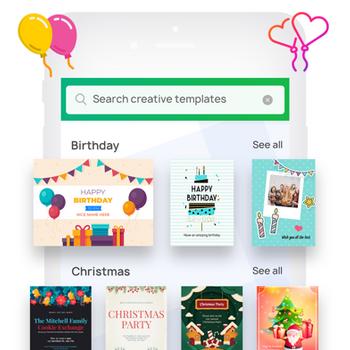 Invitation Maker- Make Invites iphone image 1