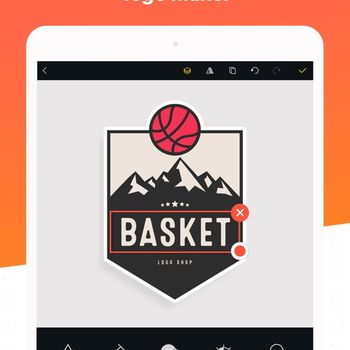 Logo Maker Shop ipad image 1